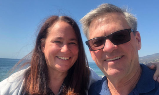 Tom and Maria Horner, owners of Catalina Island Camps